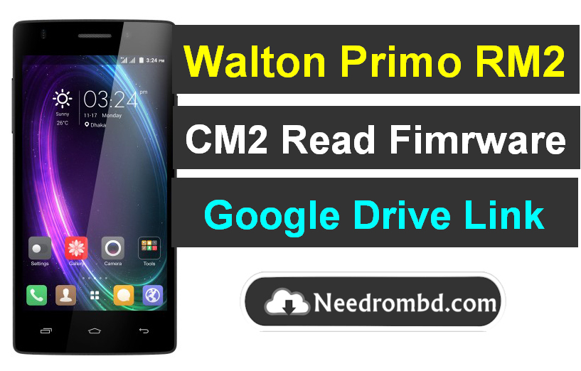 Walton Primo RM2 Flash File