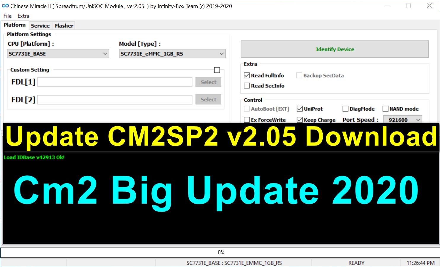 InfinityBox install CM2SP2 v2.05