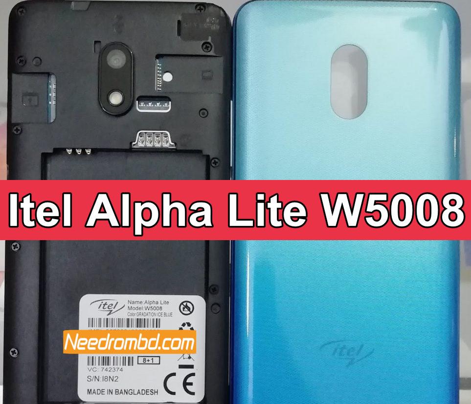 Itel Alpha Lite W5008