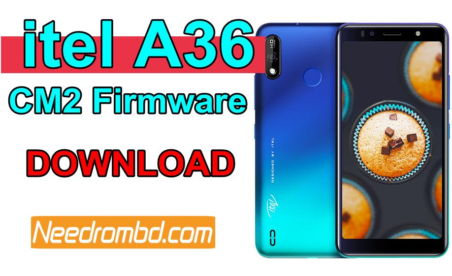 itel A36 Firmware